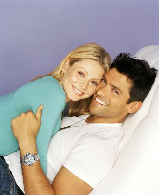 Mark Consuelos Kelly Ripa and