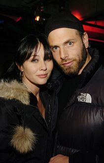 Rick Salomon  and Shannen Doherty