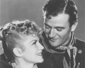 John Wayne Claire Trevor and