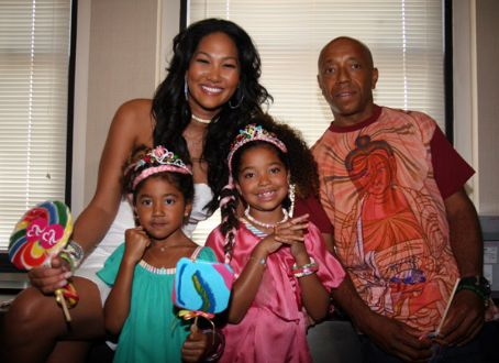 Russell Simmons Kimora Lee Simmons and