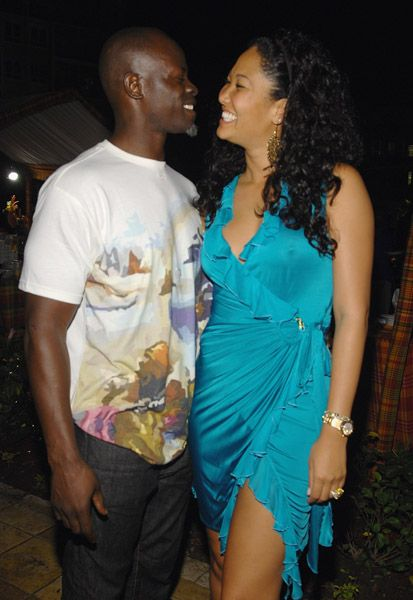 Kimora Lee Simmons Djimon Hounsou and