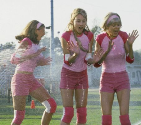 Bree Turner Three cruel girls from the nasty Tri-Pi sorority, including Tiffany (, center) are all wet in Touchstone's Sorority Boys - 2002