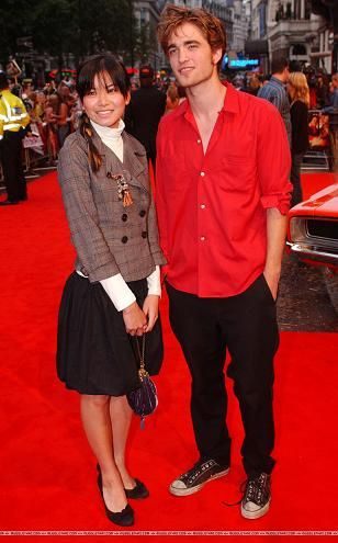Robert Pattinson Katie Leung and