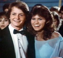Michael J. Fox  and Nancy McKeon