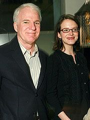 Steve Martin  and Anne Stringfield