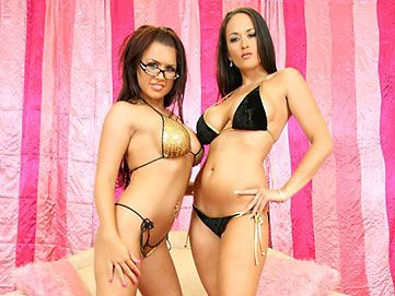 Eva Angelina  and Carmilla Bing