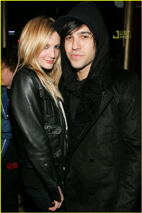 Peter Wentz Ashlee Simpson and Pete Wentz