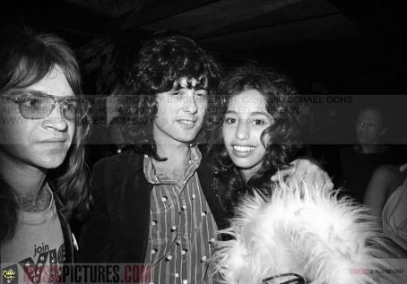 Jimmy Page  and Lori Maddox at Rodney's