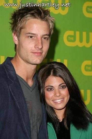 Justin Hartley  and Lindsay Korman