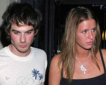 Ian Somerhalder  and Nicky Hilton
