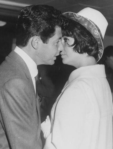 Eddie Fisher  and Elizabeth Taylor