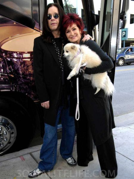 Ozzy Osbourne  and Sharon Osbourne