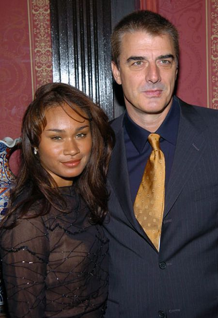 Chris Noth  and Tara Wilson