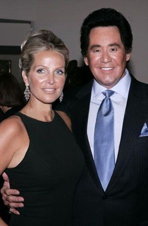 Wayne Newton  and Kathleen McCrone