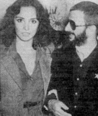 Ringo Starr  and Nancy Andrews, 1976
