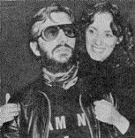 Ringo Starr  and Nancy Andrews