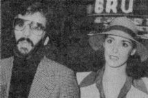 Ringo Starr  and Nancy Andrews, 1977