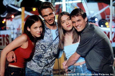 Whatever It Takes Marla Sokoloff, James Franco, Jodi Lyn O'Keefe and Shane West in Columbia/Phoenix's  - 3/2000