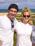 Melanie Griffith Antonio Banderas and