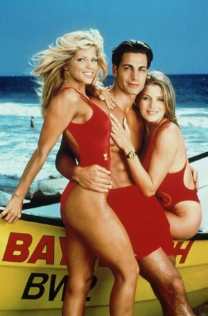 Michael Bergin Baywatch Poster