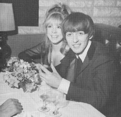 George Harrison  and Pattie Boyd