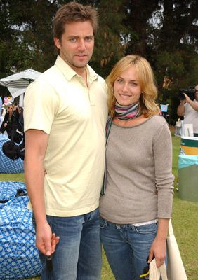 Amber Valletta  and Christian