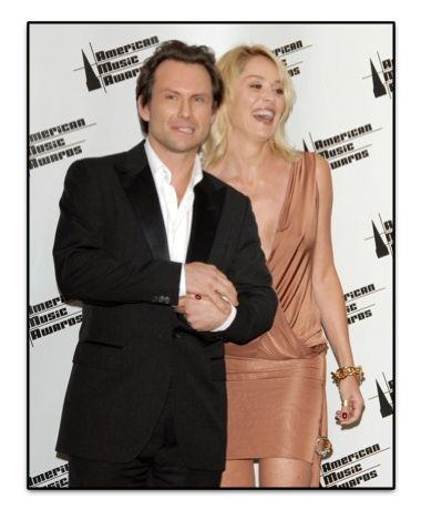 Christian Slater Sharon Stone and