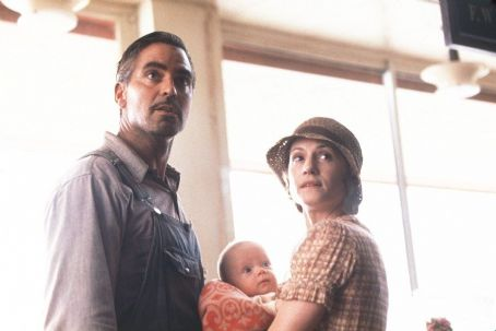 O Brother, Where Art Thou? George Clooney and Holly Hunter in Touchstone Pictures'/Universal Pictures' drama O Brother, Where Art Thou - 2000