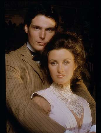 Christopher Reeve  and Jane Seymour in Somewhere in Time (1980)