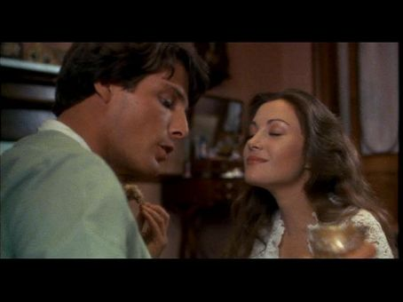 Jane Seymour Christopher Reeve and  in Somewhere in Time (1980)