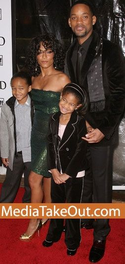 Will Smith Jada Pinkett Smith and
