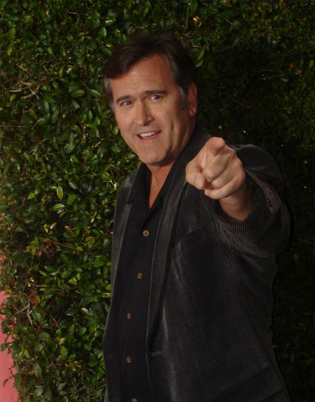 Bruce Campbell  on Scream Awards 2007.
