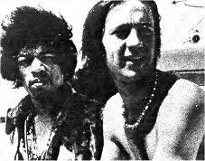 Peter Tork  and Jimi Hendrix
