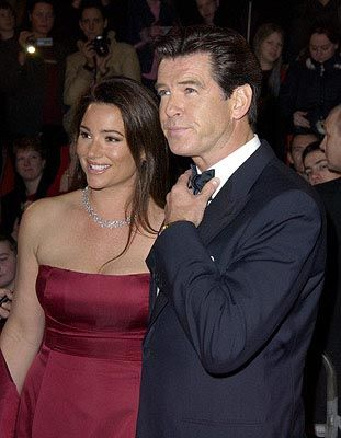 Pierce Brosnan Keely Shaye Smith and