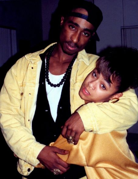 Tupac Shakur Jada Pinkett Smith and