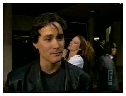 Brandon Lee  and Eliza Hutton