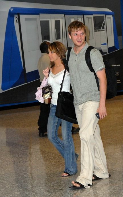 Nick Carter  and Julie Torrez