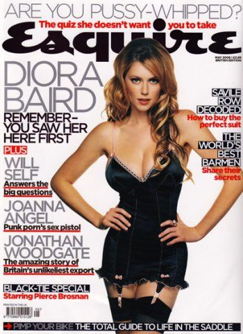 Diora Baird - Esquire Magazine [United States] (May 2006)