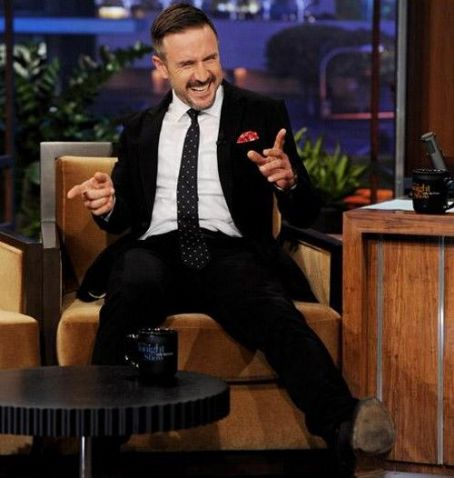 "David Arquette Visits the ""Tonight Show"""