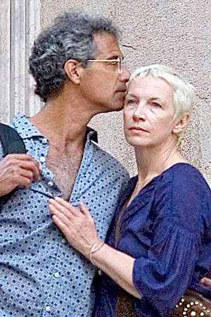 Annie Lennox and Mitch Besser