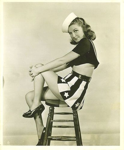 Ann Sheridan  in Navy Blues