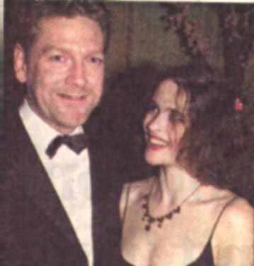 Helena Bonham Carter  and Kenneth Branagh