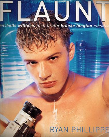 Ryan Phillippe - Flaunt Magazine [United States] (January 1999)