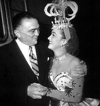 Dorothy Lamour  and J. edgar Hoover