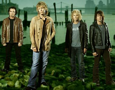 Jon Bon Jovi , Richie Sambora, Tico Torres and David Bryan