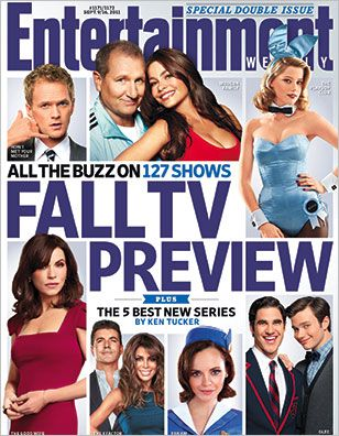 Neil Patrick Harris, Ed O'Neil, Sofía Vergara, Amber Heard, Julianna Margulies, Simon Cowell, Paula Abdul, Christina Ricci, Darren Criss, Chris Colfer - Entertaiment Weekly Magazine Cover [United States] (9 September 2011)