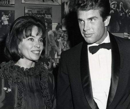 Warren Beatty Leslie Caron and