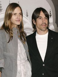 Heather Christie Anthony Kiedis and