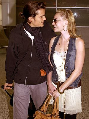 Kate Bosworth and Orlando Bloom