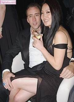 Nicolas Cage Alice Kim Cage and